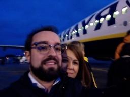 De partida para Paris